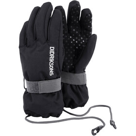 Didriksons 1913 Kids Biggles Five Gloves Black